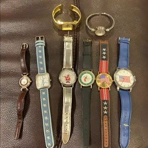 Lot of 8 watches